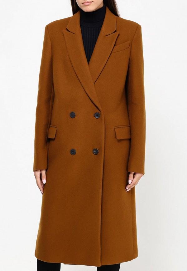 Пальто Коричневое Женское