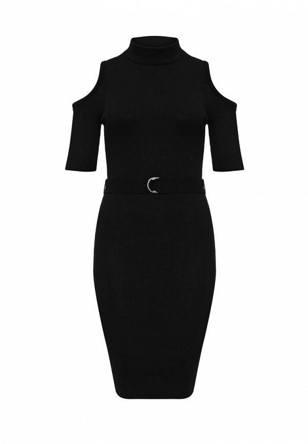 Вязаное платье Topshop (Топ Шоп) 23D26JBLK