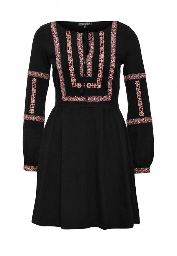 Платье-миди Topshop 10F02JBLK