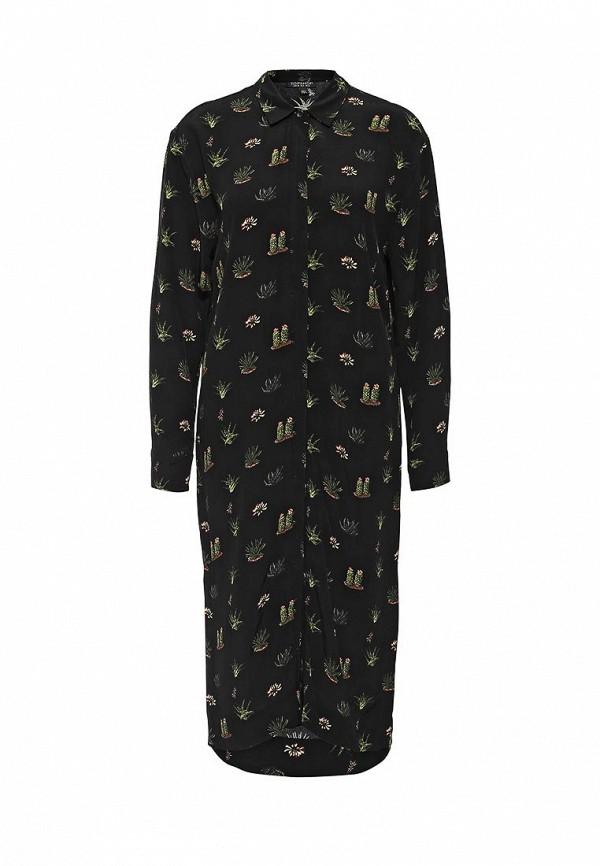 Платье-миди Topshop (Топ Шоп) 10L15KBLK