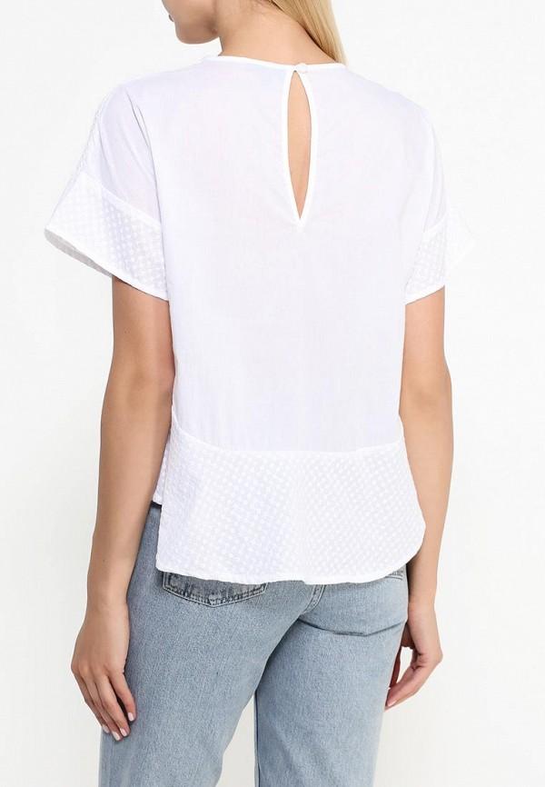 Фото 4 - женскую блузку Topshop белого цвета