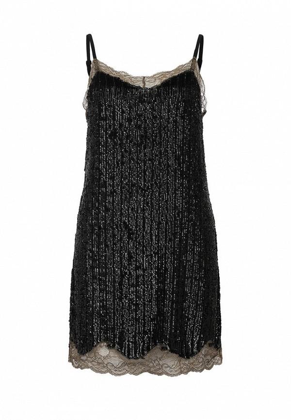 Платье-мини Topshop 04L16JBLK