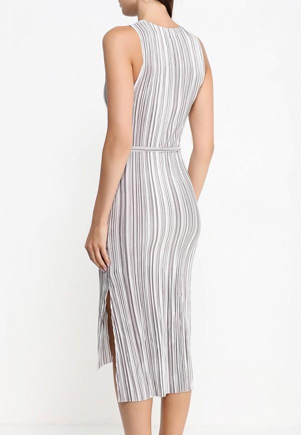Фото 4 - женское платье Topshop разноцветного цвета