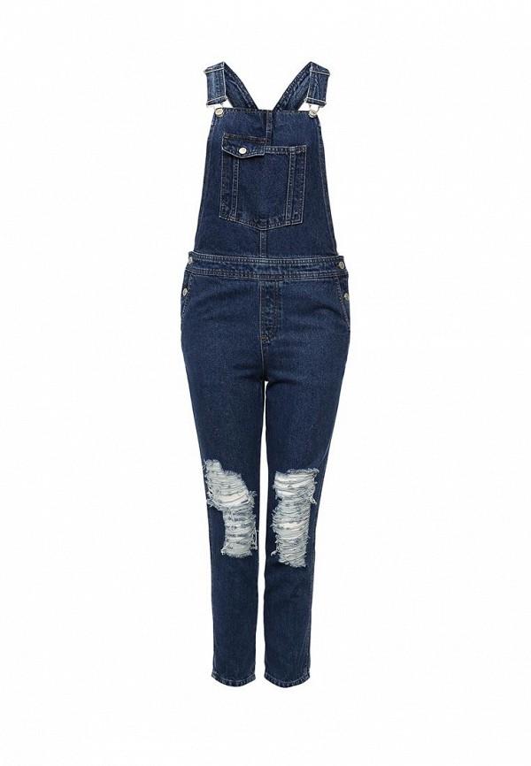 Комбинезон джинсовый Topshop Topshop TO029EWLDQ43 комбинезон джинсовый topshop topshop to029ewubw49
