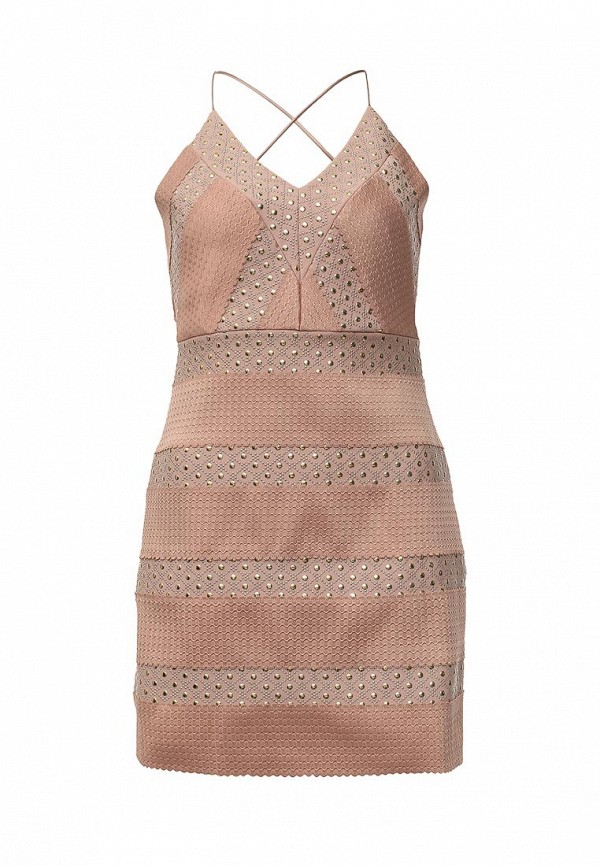 Платье Topshop Topshop TO029EWLEQ61 topshop topshop to029ewhts09