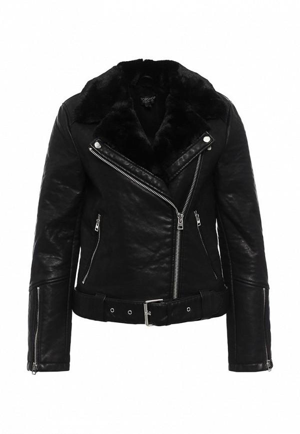 Кожаная куртка Topshop (Топ Шоп) 11P07KBLK