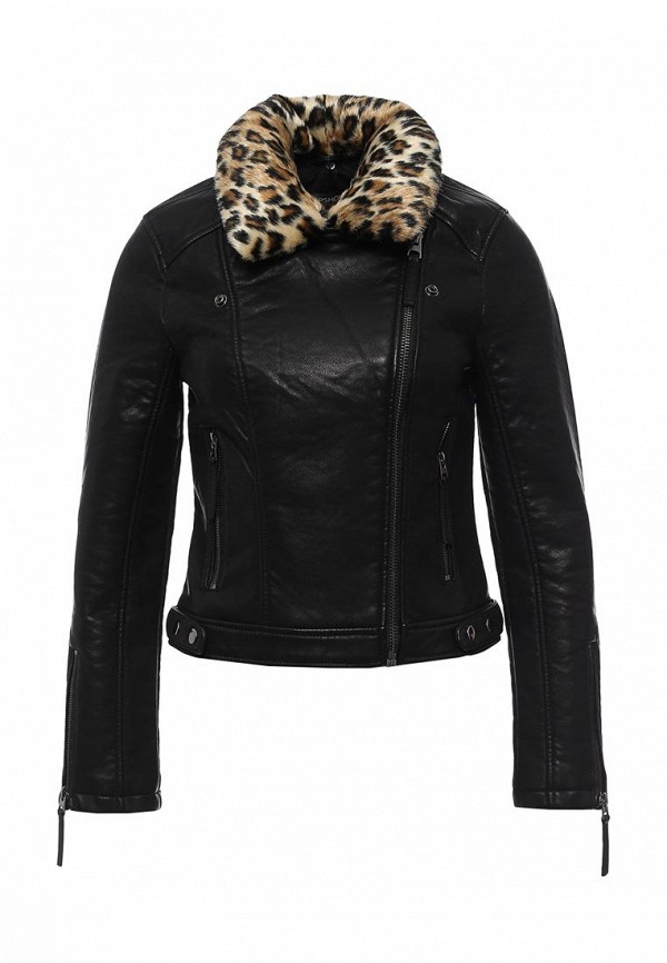 Кожаная куртка Topshop (Топ Шоп) 11P10KBLK