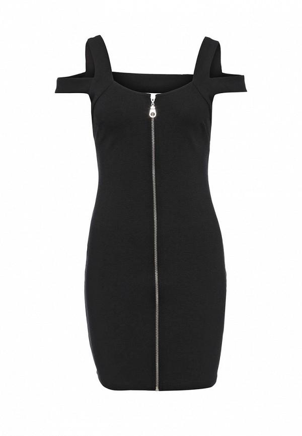 Платье-мини Topshop (Топ Шоп) 35B16KBLK