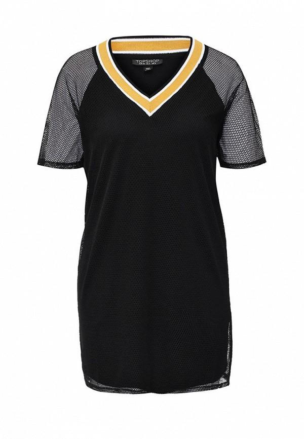 Платье-мини Topshop 09T60JBLK
