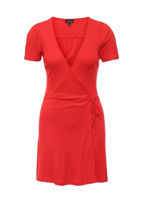 Платье-мини Topshop (Топ Шоп) 10J20KRED