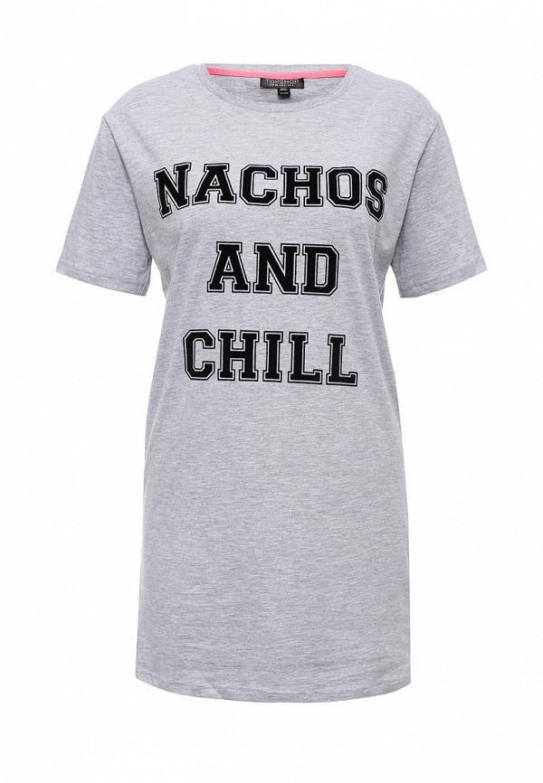 Домашняя футболка Topshop (Топ Шоп) 01T07LGRY