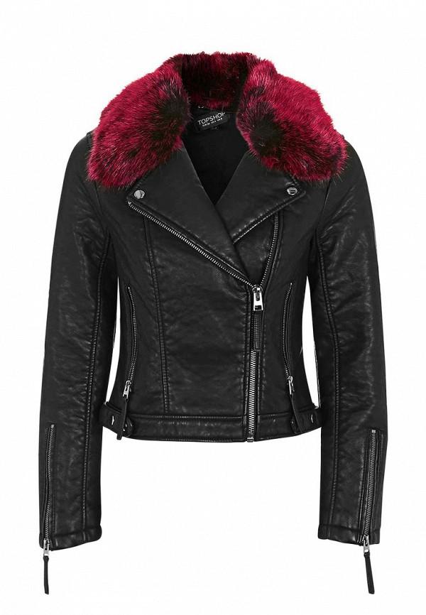 Кожаная куртка Topshop (Топ Шоп) 11P04KBLK