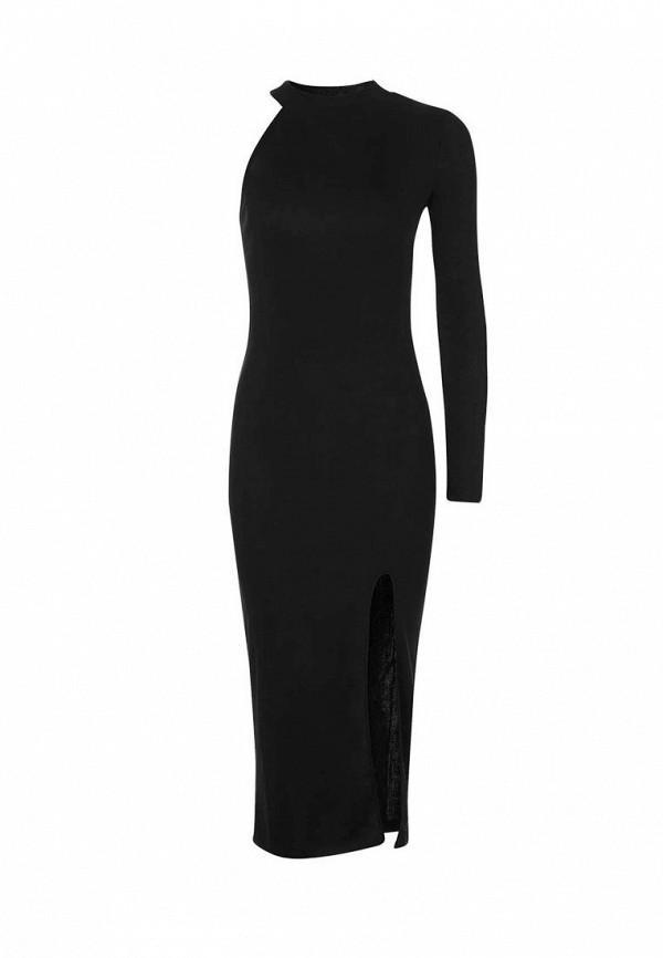 Купить женское вечернее платье Topshop черного цвета