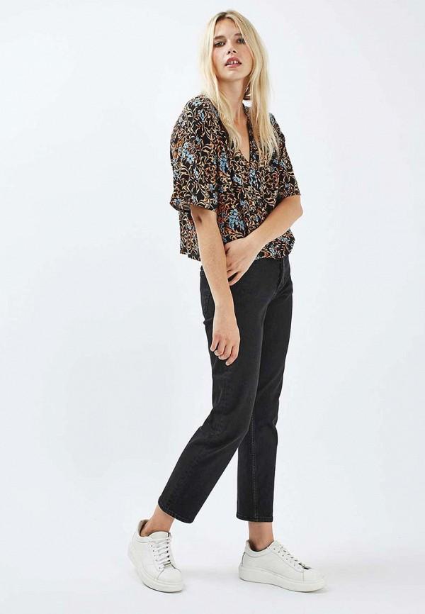 Фото 2 - женскую блузку Topshop разноцветного цвета