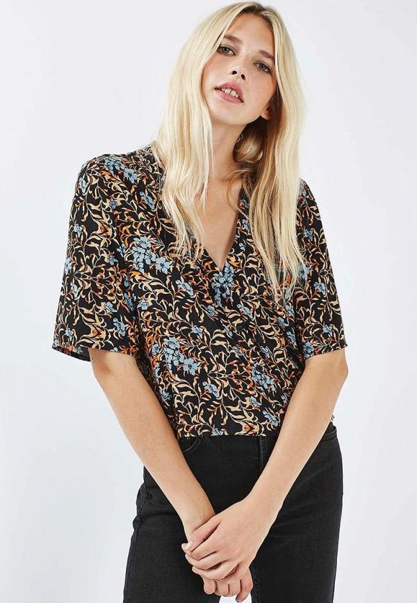 Фото 3 - женскую блузку Topshop разноцветного цвета