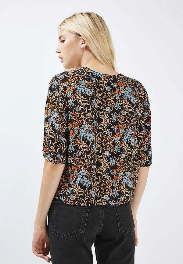 Фото 4 - женскую блузку Topshop разноцветного цвета