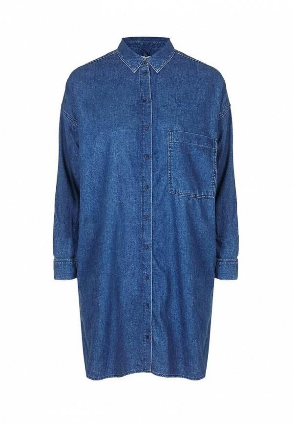 Платье джинсовое Topshop Topshop TO029EWNSZ71 джинсовое платье