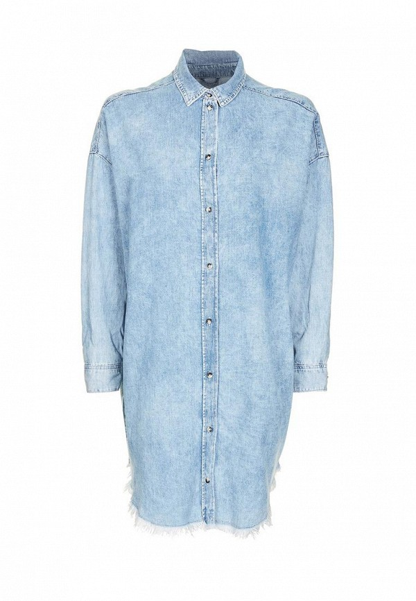 Платье джинсовое Topshop Topshop TO029EWPYQ73 topshop topshop to029ewikb03