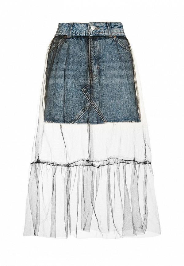 Широкая юбка Topshop (Топ Шоп) 05S14KMDT
