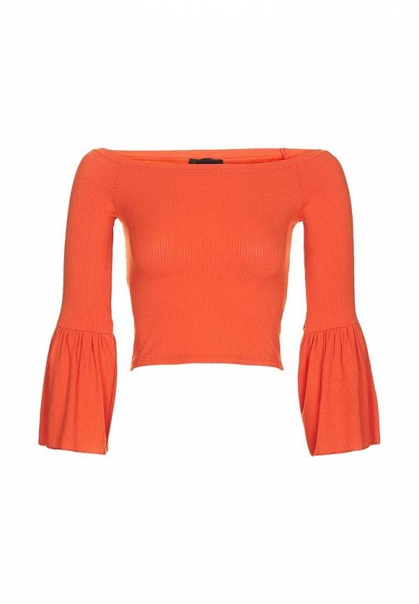 Фото - женскую блузку Topshop оранжевого цвета