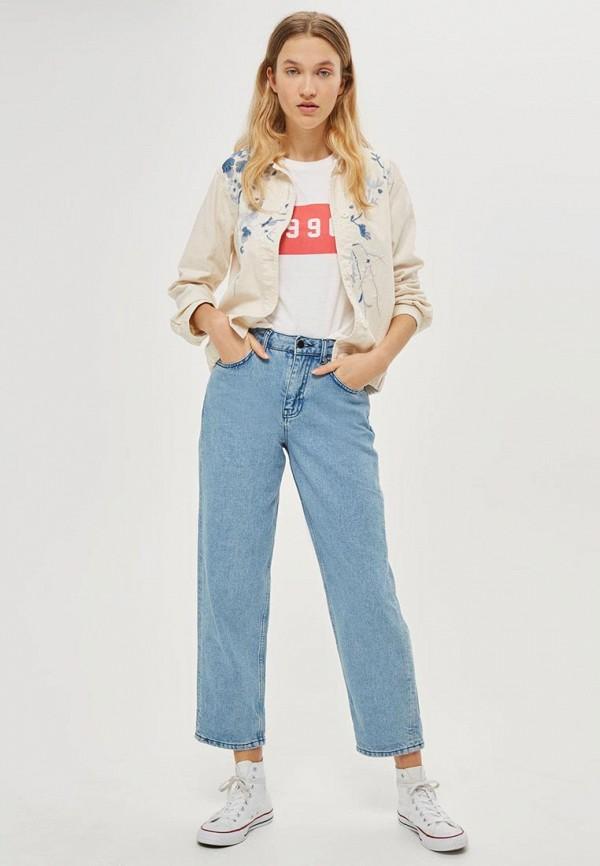 Куртка джинсовая Topshop Topshop TO029EWTQZ14 topshop topshop to029ewhtr95