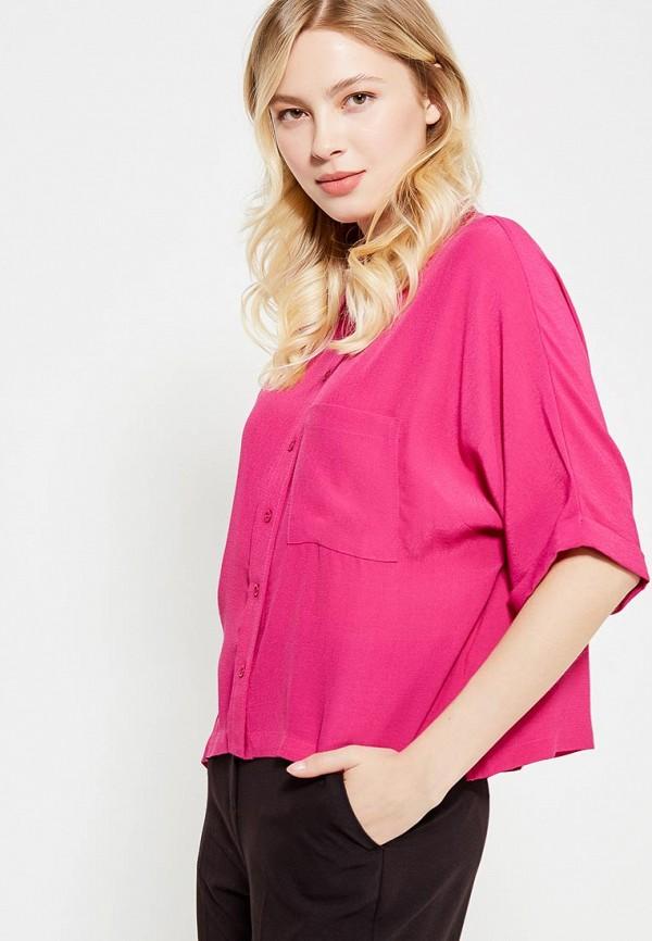 Фото - женскую рубашку Topshop розового цвета