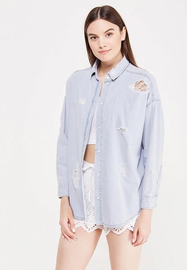 Рубашка джинсовая Topshop Topshop TO029EWUQS83 closed джинсовая рубашка