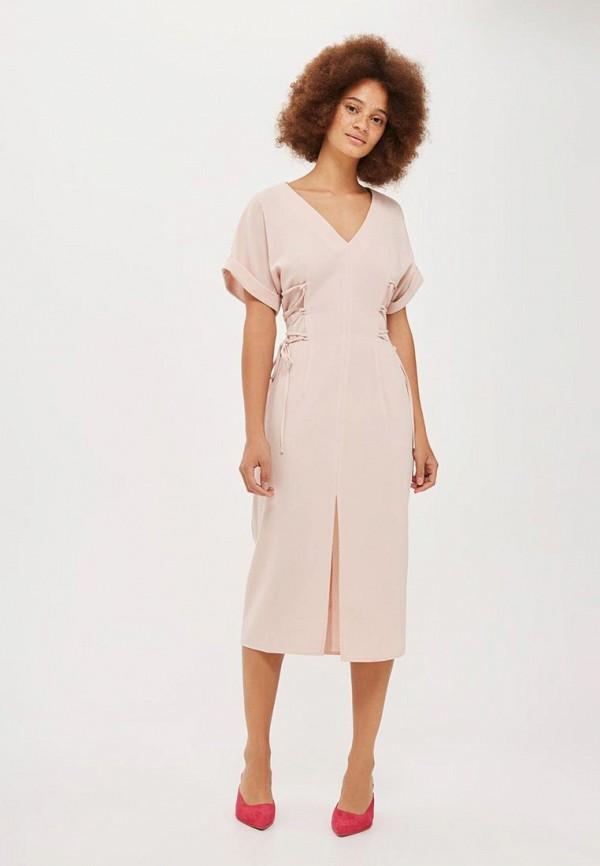 Платье Topshop Topshop TO029EWVQP55 платье джинсовое topshop topshop to029ewigr26