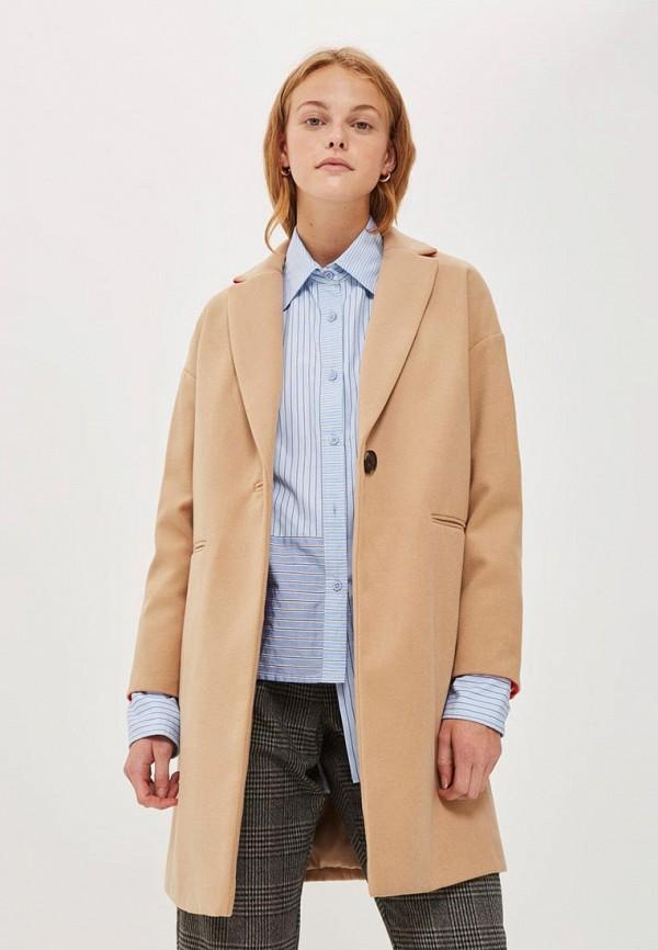 Пальто Topshop Topshop TO029EWWLG46 пальто topshop topshop to029ewxoe53