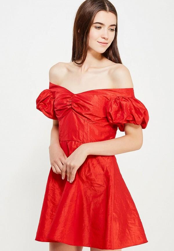 Фото - женское платье Topshop красного цвета
