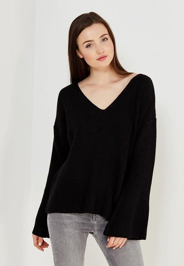 Черный Женский Пуловер Доставка