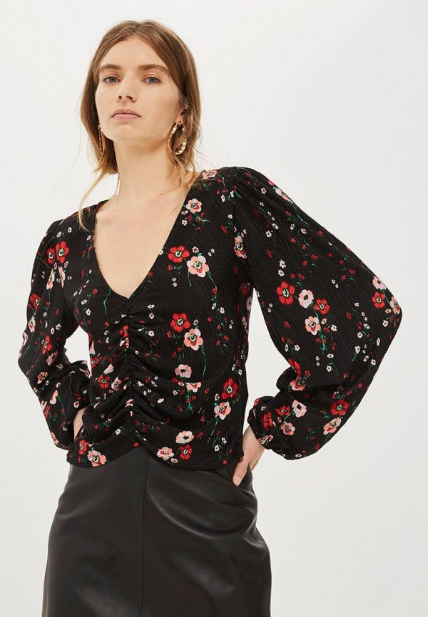 Блуза Topshop Topshop TO029EWYAN22 блуза topshop topshop to029ewpyq69