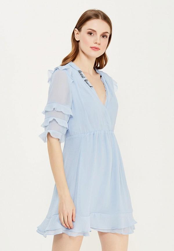Платье Topshop Topshop TO029EWYAP38 платье джинсовое topshop topshop to029ewigr26