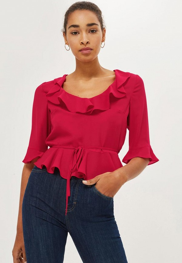 Блуза Topshop Topshop TO029EWYRS04 блуза topshop topshop to029ewxgl80