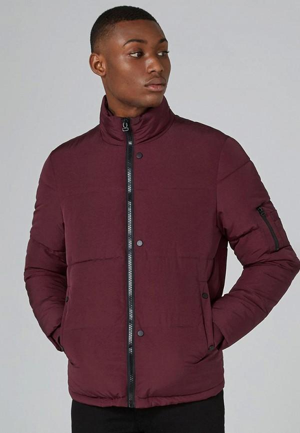 Купить Куртка утепленная Topman, TO030EMALRE2, бордовый, Весна-лето 2018