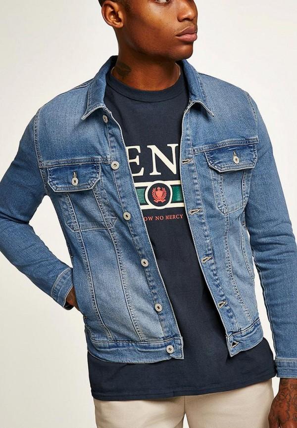 Куртка джинсовая Topman Topman TO030EMBGKU2 куртка джинсовая topman topman to030emubr92