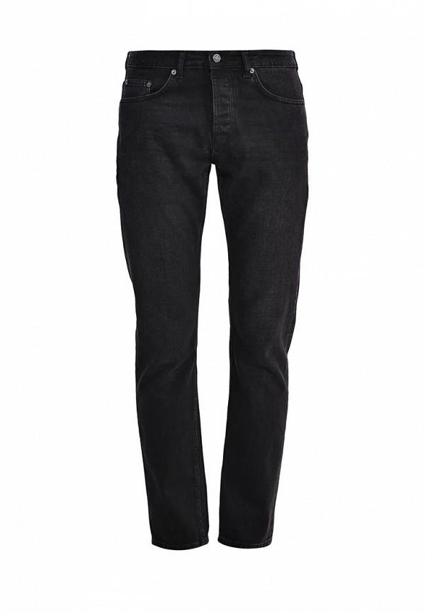 Мужские прямые джинсы Topman 69C01LBLK