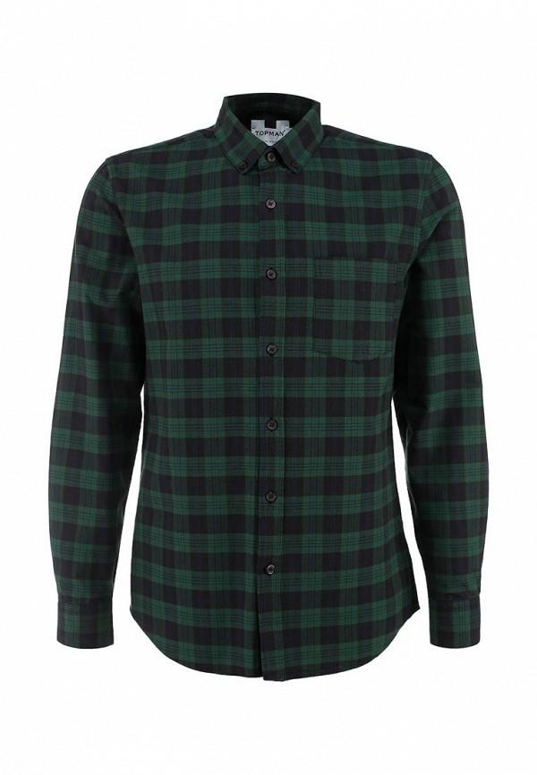 Рубашка с длинным рукавом Topman (Топмэн) 83A05LGRN