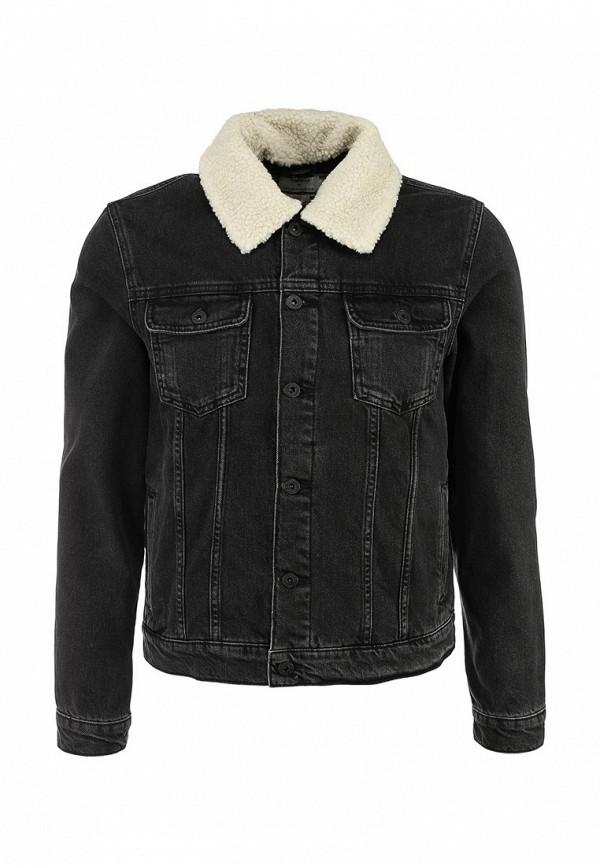 Джинсовая куртка Topman (Топмэн) 64P05LBLK