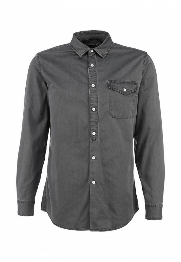 Рубашка с длинным рукавом Topman (Топмэн) 83F11KGRY