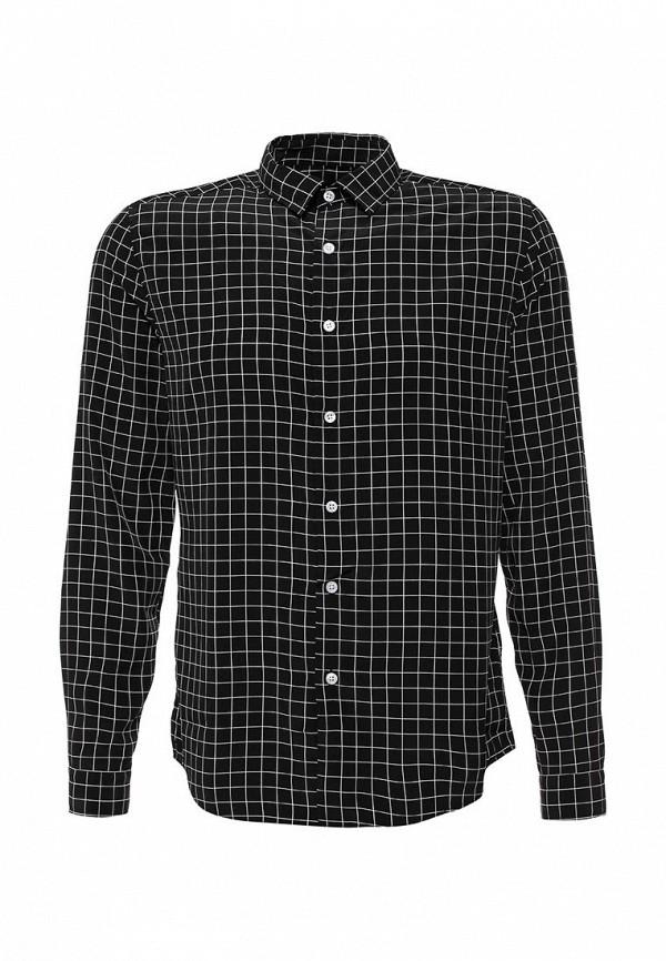 Рубашка с длинным рукавом Topman 84C07LBLK