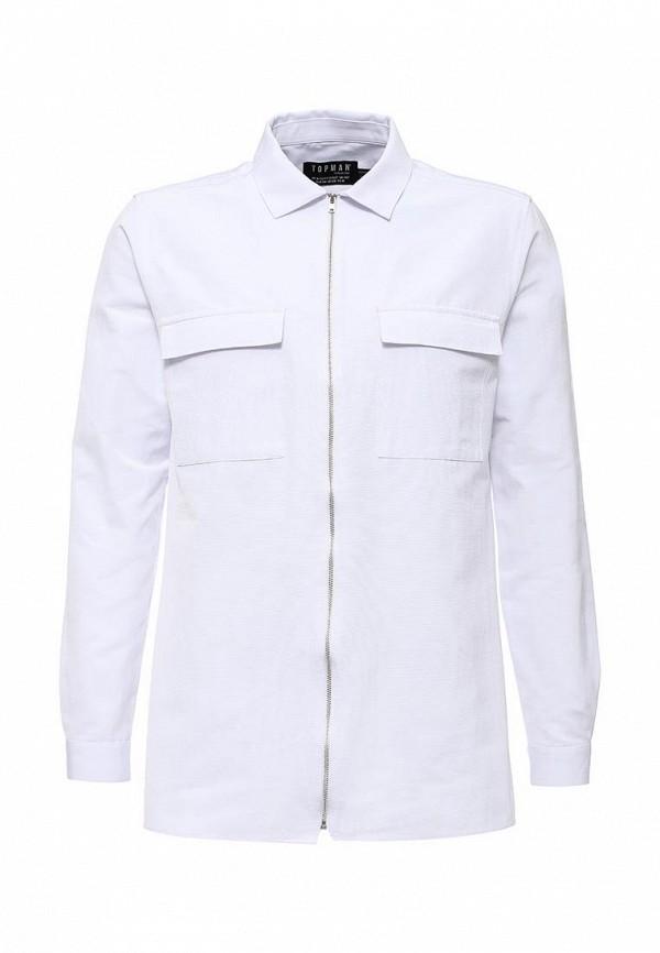 Рубашка с длинным рукавом Topman (Топмэн) 84F04LWHT