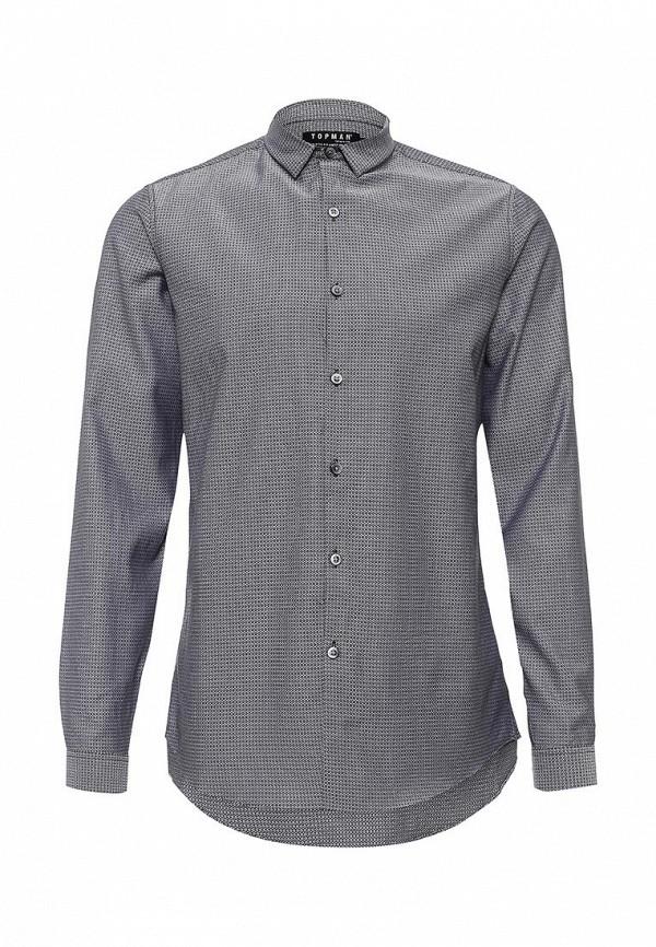 Рубашка с длинным рукавом Topman (Топмэн) 84F22KGRY