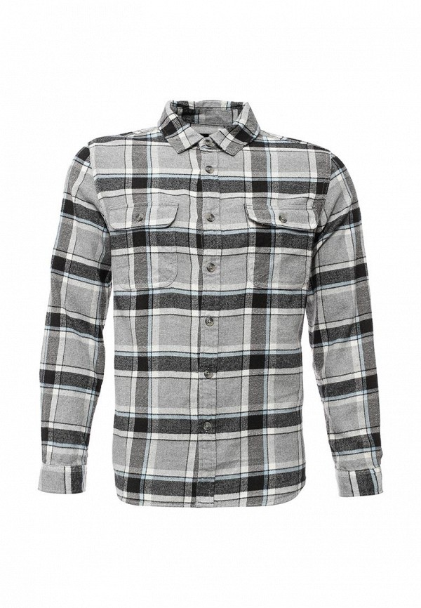 Рубашка с длинным рукавом Topman 83C36LGRY