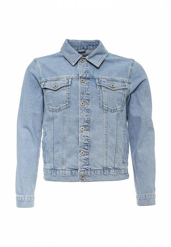 Джинсовая куртка Topman (Топмэн) 64P10MBLE