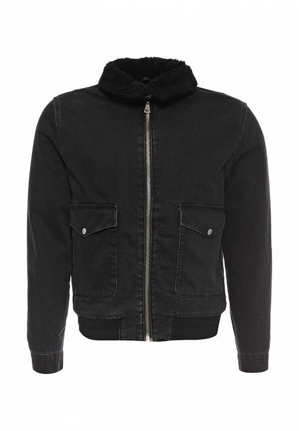Джинсовая куртка Topman (Топмэн) 64P23MBLK
