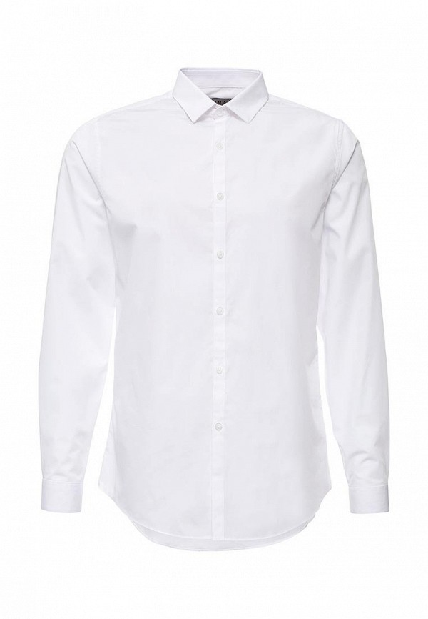 Рубашка с длинным рукавом Topman (Топмэн) 84L01LWHT