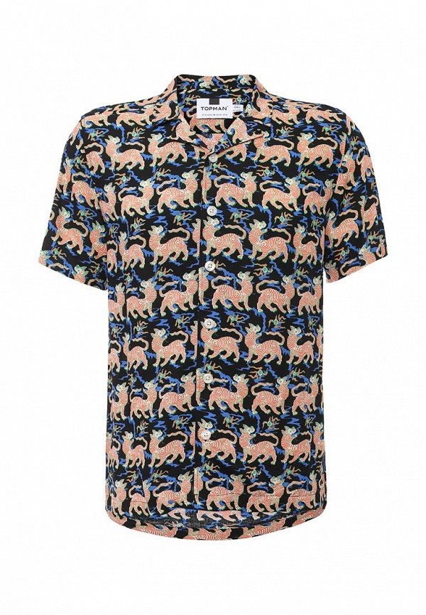 Рубашка с коротким рукавом Topman (Топмэн) 83D14LMUL