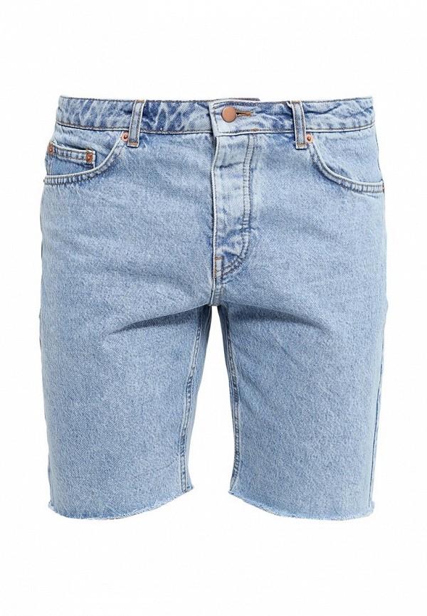 Мужские джинсовые шорты Topman (Топмэн) 33C60KLBL