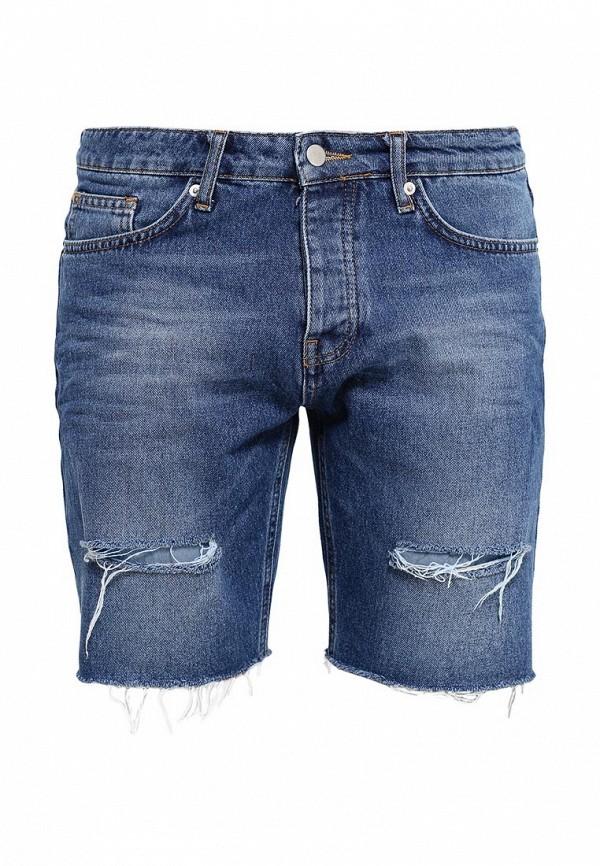 Мужские джинсовые шорты Topman (Топмэн) 33C64KBLE